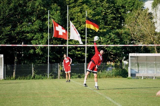 Erfolgreicher Abschluss durch einen Schweizer Nati-Spieler auf dem Ebnet in Frick.