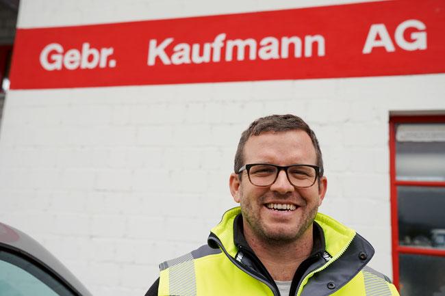 Der Geschäftsführer der Gebr. Kaufmann AG Michael Ott legt Wert auf Kundenwünsche.