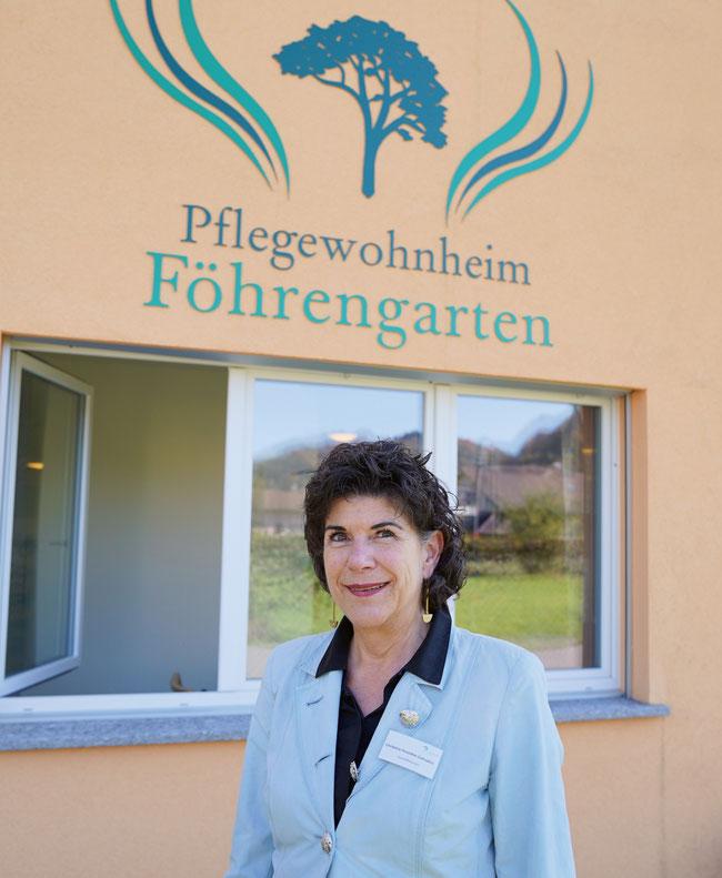 Heimleiterin Christine Hunziker möchte den Bewohnerinnen und Bewohnern des Föhrengartens ein möglichst selbstbestimmtes Leben ermöglichen.