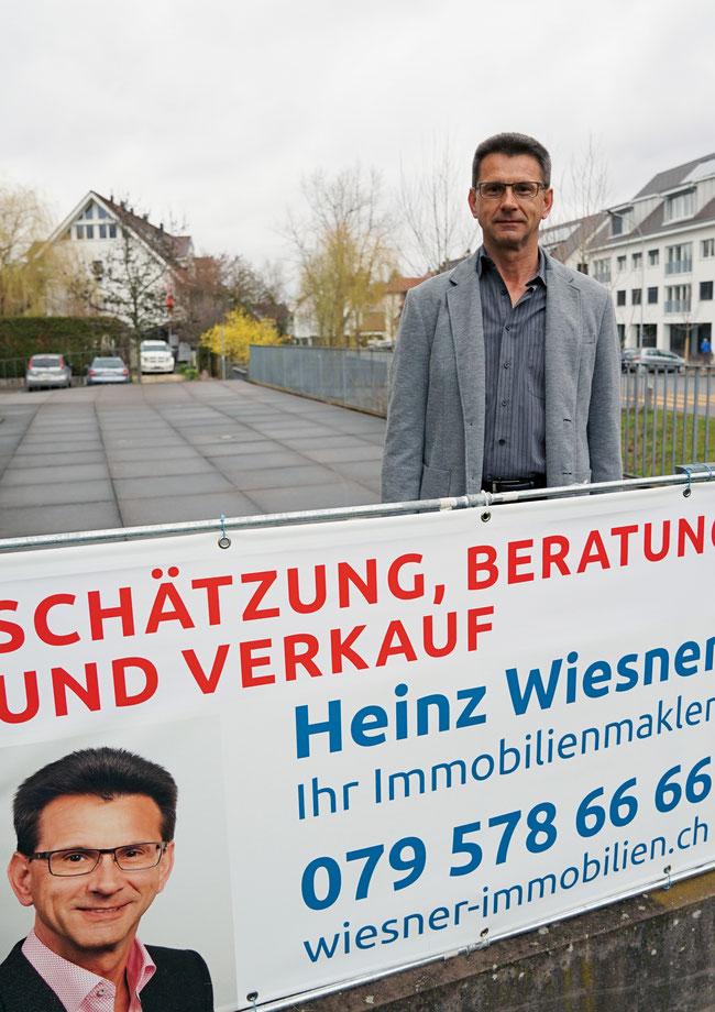 Immobilienmakler Heinz Wiesner setzt bei Immobilien-Veräusserungen in jeder Beziehung auf Qualität.