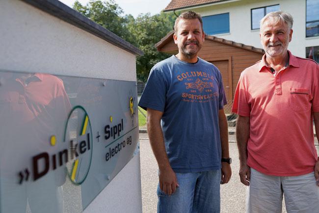 Sascha Schäfer wird die Dinkel & Sippl electro ag in Eiken  von Inhaber Alexander Dinkel per 2018 übernehmen.