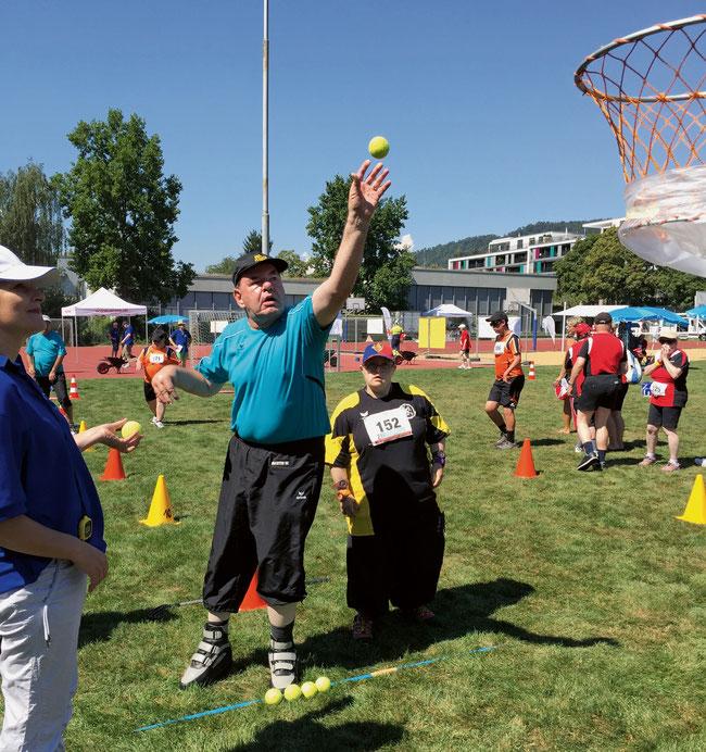 Aktive und Betreuer der Behindertensportgruppe Fricktal freuen sich auf das Grossereignis am 8. September in Frick.