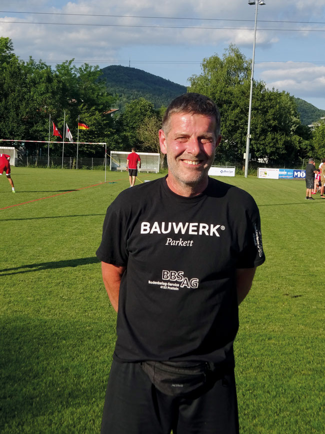 Peter Weidmann – unermüdlicher Förderer des Faustballs im Fricktal.