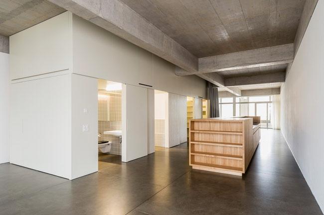 Beispiel eines hochwertigen geschliffenen Sichtbodens der Achermann GmbH in Laufenburg.