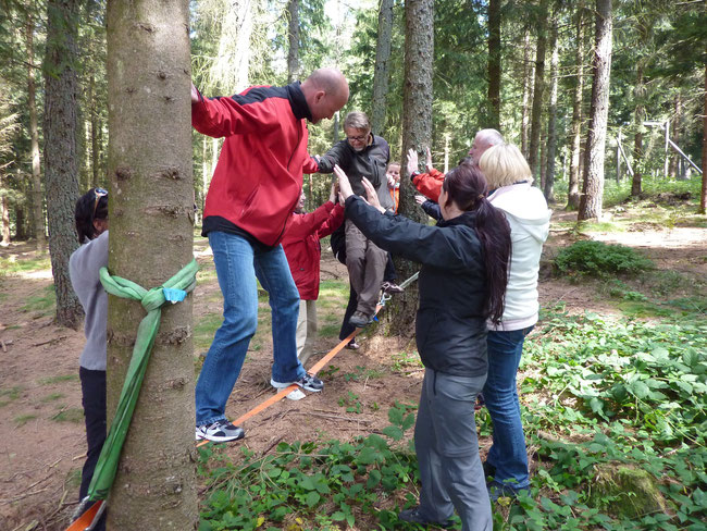 Outdoor Trainig und Teambuilding