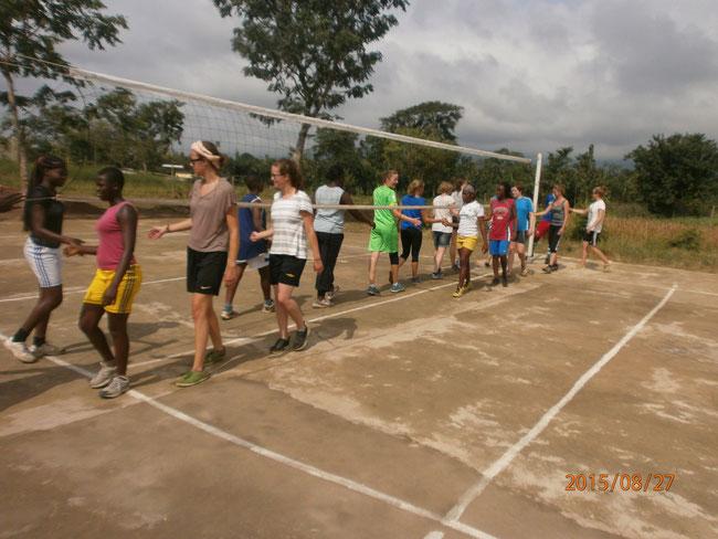 Fin du tournoi de Volleyball des filles