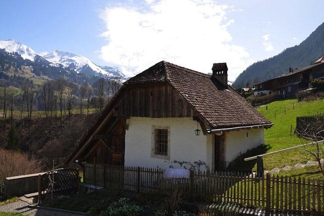 Ofenhaus in Diemtigen, heute 240 Jahre alt (Archivbild)