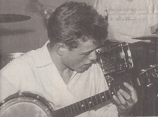 Bertram Hauser am 20. Juli 1957 Erster Auftritt im Jazz Keller Glarus (Südostschweiz 20. Juli 2007)