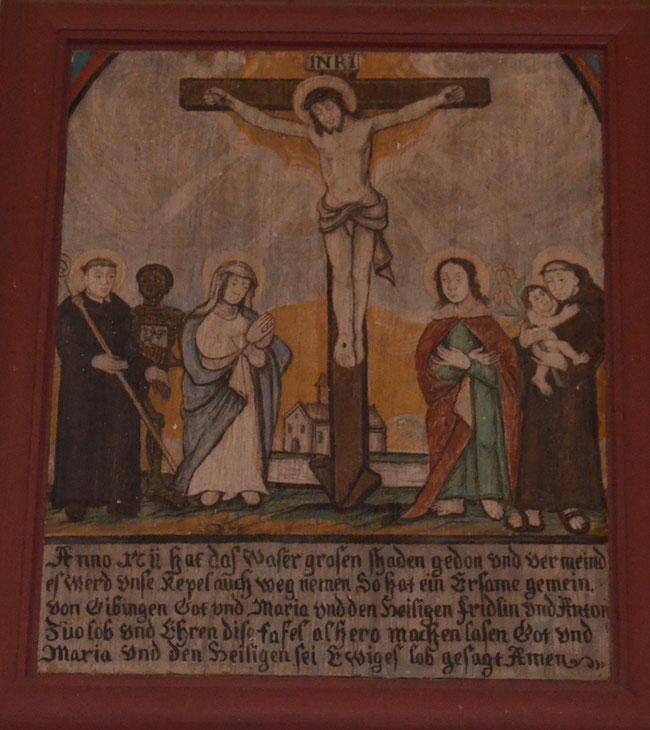 Leuggern Gippingen Fridolin und Ursus links im Bild