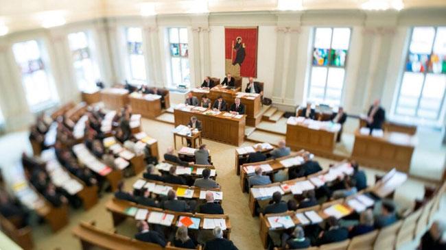 Die alte Sitzordnung des Landratssaales ist out!