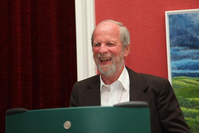 """P. Othmar Landolt, anlässlich seines 40-Jahre-Priesterjubiläums im """"Hotel Schwert"""" Näfels (Foto: Privatarchiv)"""