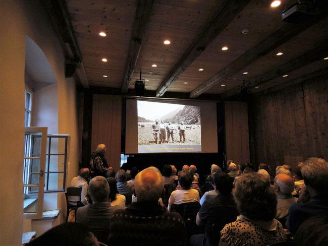 Bohlensaal - ganz im Zeichen des Obersee-Staafel! (Foto: M. Hauser,Zug)