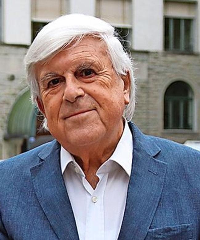 Nein, keine Fàlschung - der energiegeladene, braungebrannte Mann ist Prof. Dr. Alfred Noser, erster und langjähriger Rektor der Pädagogischen Hochschule St. Gallen.  Erst letzten Sonntag wurde er 80-jährig. (Foto: zvg Email)