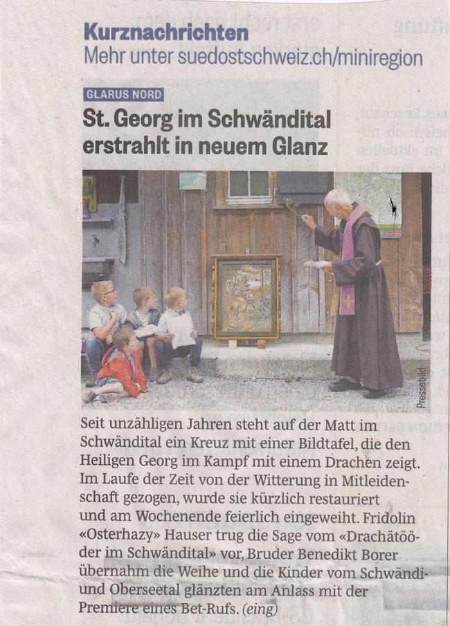 Glarner Nachrichten Südostschweiz-Glarus Mi 12.6.2019 Seite 2