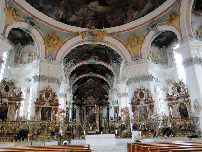 """Kloster St. Gallen - Hier findet alljährlich am ersten Mittwoch im November das """"Aller Äbte Jahrzeit"""" statt. 2017 am 8. November."""
