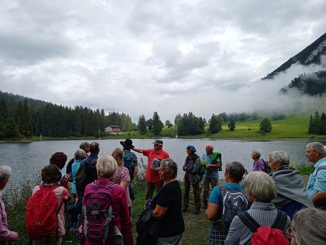 Obersee - randvoll mit Wasser und Geschichten