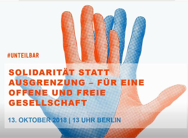 Unteilbar Demo Berlin