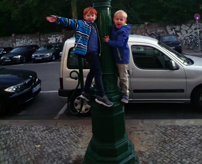 Kinder Freiräume, Berlin Prenzlauer Berg