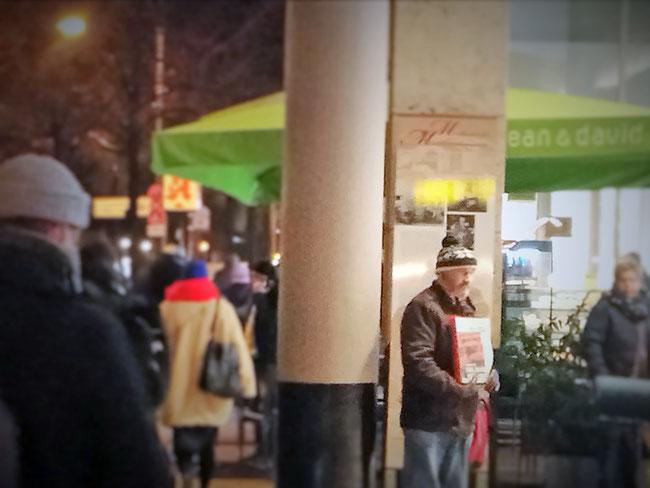 Obdachlos Berlin Prenzlauer Berg