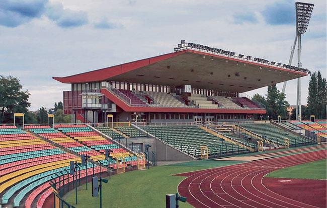 Jahnsportpark Berlin Prenzlauer Berg