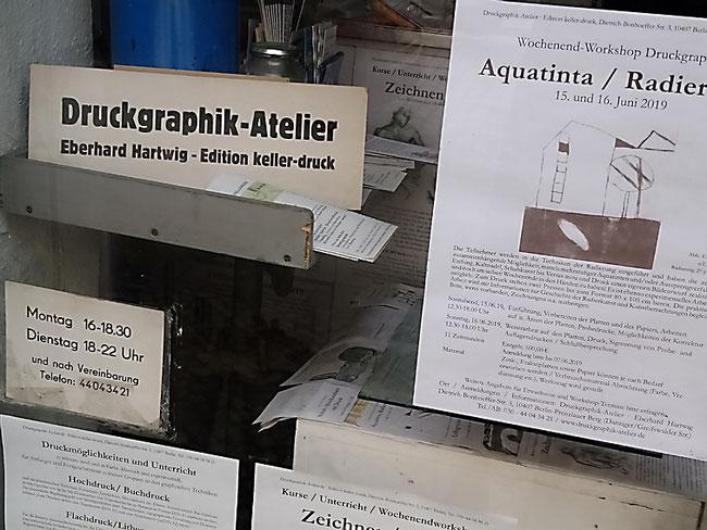Druckgrafik Atelier Berlin Prenzlauer Berg