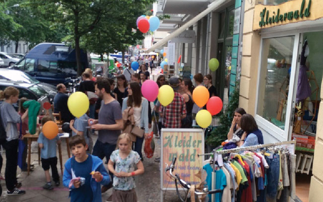 Stargarder Straßenfest Berlin Prenzlauer Berg