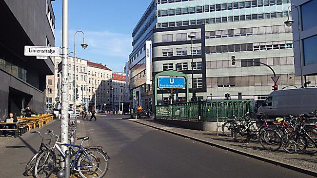 Schönhauser Ecke Rosa-Luxemburg-Straße Berlin  Prenzlauer Berg