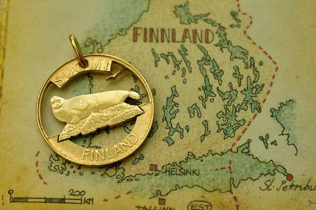 Münzsägewerk Katrin Thull | Finnland - Robbe
