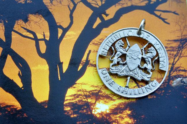 Münzsägewerk Katrin Thull | Kenia - Wappen
