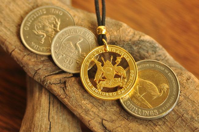 Münzsägewerk Katrin Thull | Uganda - Wappen