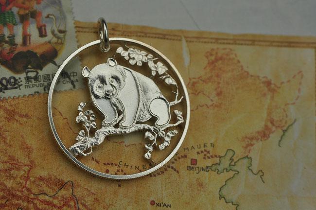 Münzsagewerk Katrin Thull | China - Pandabär Silber