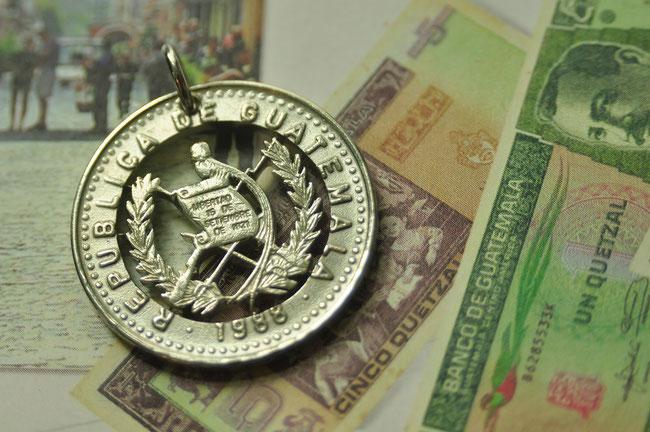 Münzsägewerk Katrin Thull | Guatemala - Wappen