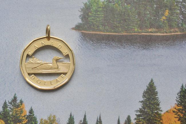 Münzsägewerk Katrin Thull | Kanada - Loonie