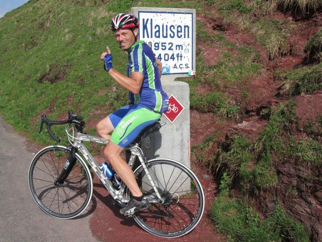 22 Juni 2014 nach 2200km erfolgreichen Tests  --   auf der Gossau Pragel- Klausenpass Tour