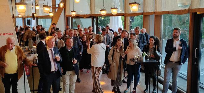 Gäste beim AGE-Sommerfest 2021