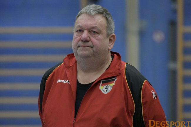 Coach Meinberger: die Mannschaft entwickelt sich