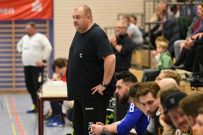 Coaches Hajsman und Fritz Helber sichbar enttäuscht