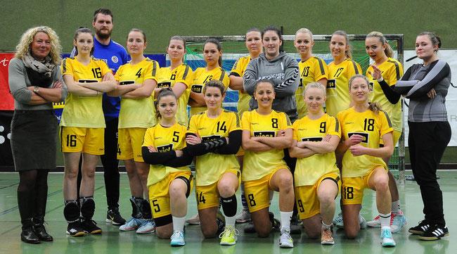 das erfolgreiche Damenteam der SSG Metten