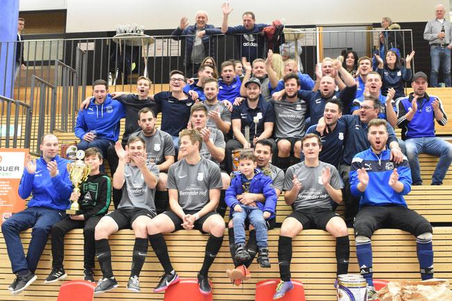 letztjähriger Sieger der Deggendorfer Hallenmeisterschaft: SV Bernried