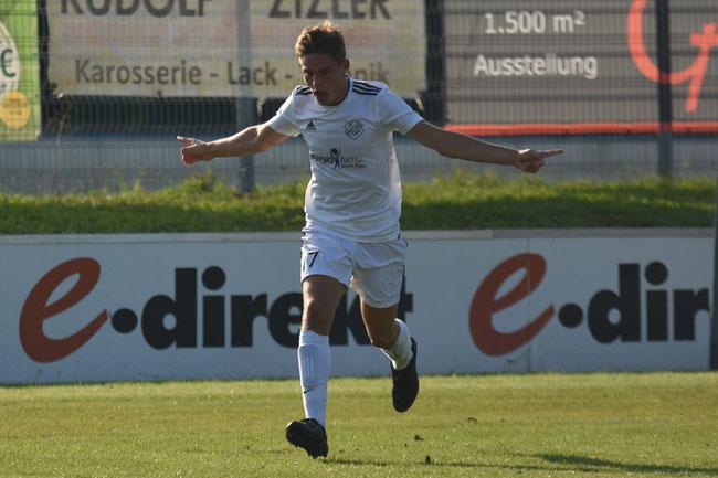 Markus Heinzl nach dem 2:0