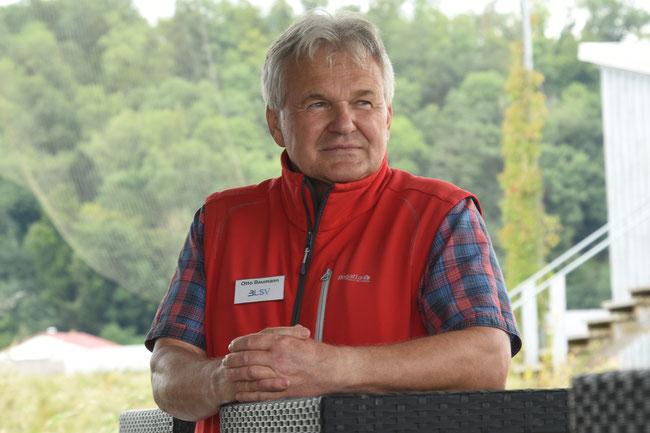 Otto Baumann: BLSV-Kreisvorsitzender