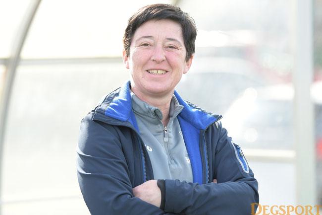 Sandra Klause vorerst die Cheftrainerin