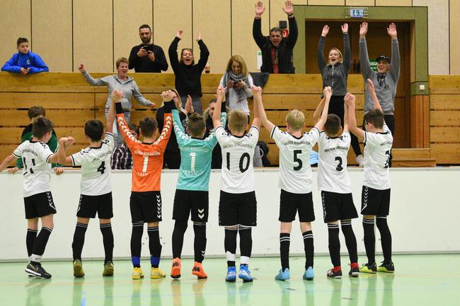 Das Siegerteam von Wacker Burghausen