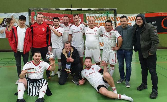 Das Siegerteam der AH: Türk Gücü Deggendorf