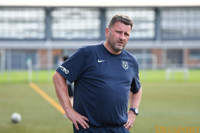 Frauenbiburgs Trainer Helmut Baurs-Krey