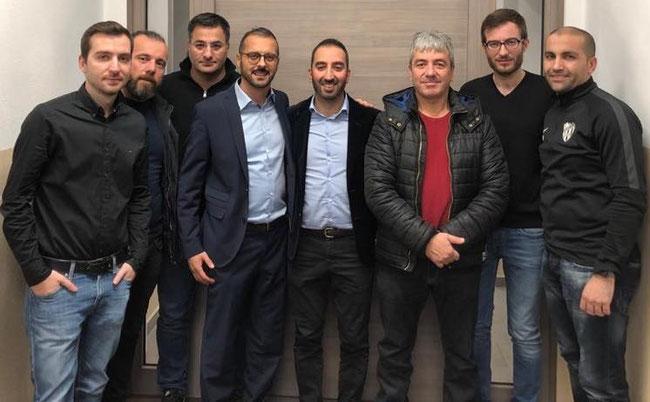 v.l.Gökhan Tulum, Hamza Dursun, Barboros Yalcin, Turgay Mus, Tuncay Seker, Sait Sevinc, Yunus Adali, Yusuf Yüce