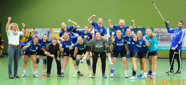 so wollen die Handball-Damen wieder jubeln
