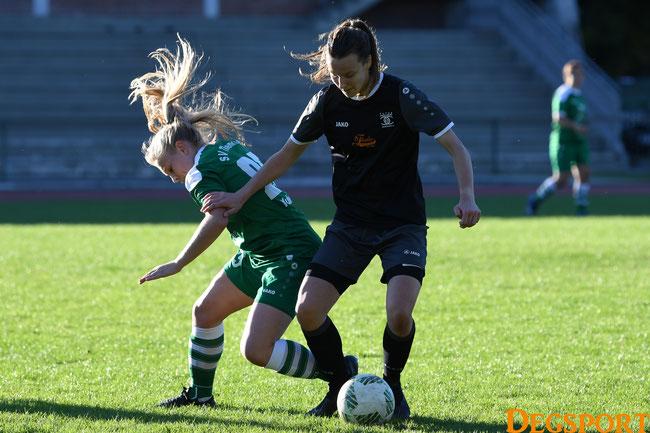 Sie brachte ihr Team auf die Siegerstraße: Sofia Bschlangaul