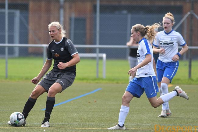 Sabine Ebnicher erzielte den zwischzeitlichen Ausgleich zum 1:1
