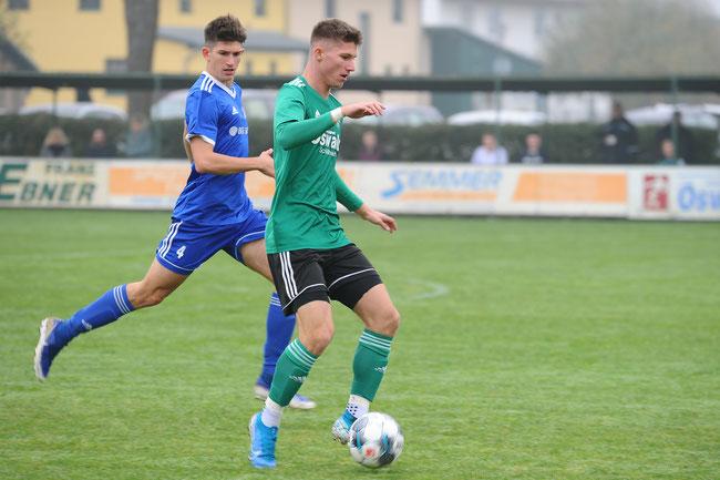 Kapitän Marcel Müller erzielte das 1:0